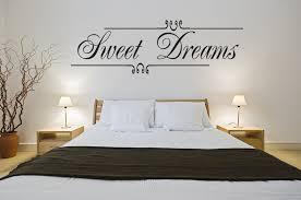 Sweet Dreams Wall Art Vinyl Decal Decor Bedroom Girls Home Lettering Quote Walmart Com Walmart Com
