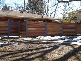 Metal Post Horizontal Wood Fence Best Horizontal Fence Alpine Fence Of Colorado Llc How To Build A Horizontal Slat Fence The Easy Way Postmaster Steel Fence Posts Dfw Fence Contractor The