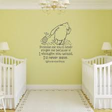 Nursery Wall Decal Winnie The Pooh Quote Classic Pooh Nursery Decor Pooh And Piglet Wall Decals N Winnie The Pooh Nursery Nursery Wall Decals Winnie The Pooh