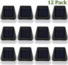 Solar Fence Post Lights Othway Outdoor Waterproof Colorful Decorative Wall Light For Sale Online Ebay