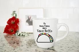 Taco Belle Disney Princess Disney Princess Custom Custom Etsy