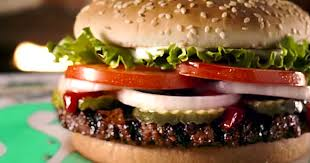 new burger king meatless whoppers use