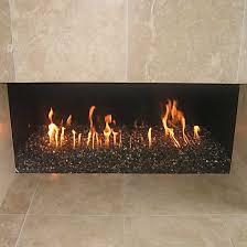 fireplace to use glass rocks