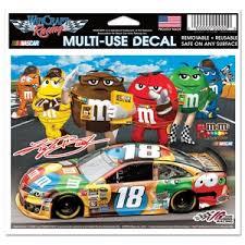 Kyle Busch 18 M M S Racing 5x6 Ultra Decal At Sticker Shoppe
