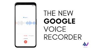 Voice Recorder from Google Pixel 4 ...