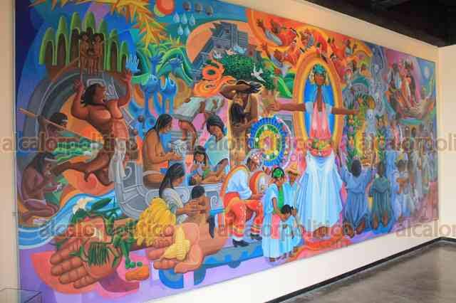 """Resultado de imagen de mural totonaco"""""""