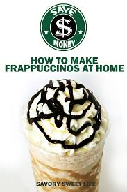 starbucks frappuccino recipe mocha