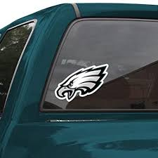 Amazon Com Wincraft Nfl Philadelphia Eagles 8 Color Team Logo Car Decal Sports Related Tailgater Mats Sports Outdoors