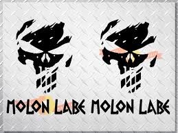 Product Punisher Skull Molon Labe Us Body Side Vinyl Decal Sticker Jeep Wrangler Any Car