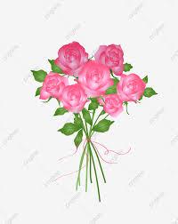 وردة وردية وردة مرسومة باليد وردة ناقلات زهرة باليد وردة مرسومة