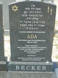 Ada Becker - Cape Town