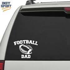 Custom Football Stickers And Decals Indy Sport Stickers Football Decal Football Mom Custom Football