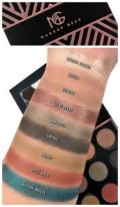 eyeshadow swatches review swatch