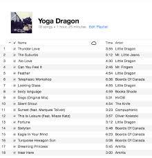 little dragon yoga playlist clara
