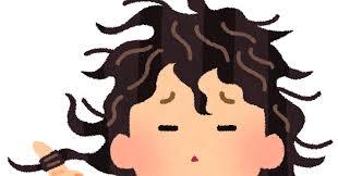 くせっ毛のイラスト   かわいいフリー素材集 いらすとや