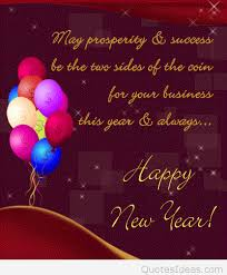 cute happy new year business quotes and cards