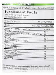 super shake vanilla vegan powder 30