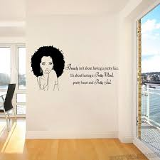 Hot Sale 9df42 Tribal African Woman Decal Beauty Quote Beautiful Afro Girl Home Decor Wall Art Home Decoration Shop Window Sign L785 Cicig Co