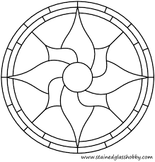 free pattern fl round panel variation