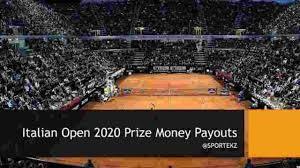 Italian Open 2020 Prize Money (Each ...