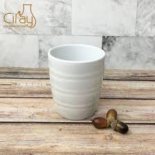 light green ceramic flower pot