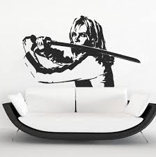 Uma Thurman Kill Bill Wall Decals Uma Thurman Kill Bill Kill Bill Uma Thurman