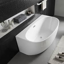 wall freestanding bath