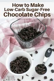 sugar free chocolate chips