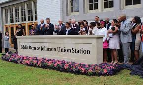 Eddie Bernice Johnson Union Station Unveiled in Ceremony Honoring ...