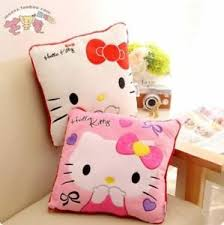 Pillow Cover Hello Kitty Soft Cushions 14 Plush Kids Bedroom High Quality Set Ebay