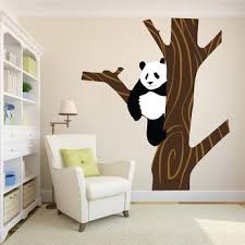 Animal Wall Decals Realistic Animal Murals Wallpaper Kids Zoo Decals American Wall Designs