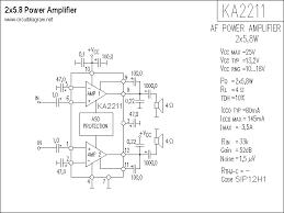 stereo power lifier with ka2211