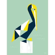 Chirp Squeak Pelican Canvas Wall Art Jack And Jill Boutique