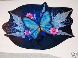 Blue Tribal Butterfly Car Truck Window Decal Decals Sticker Butterflies Ebay
