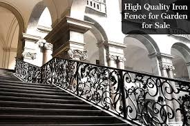 Factory Direct Supply Cast Iron Fence Post Black Iron Railing For Sale From China Iok 227 You Fine Sculpture