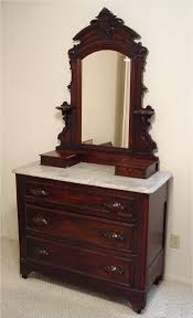 antique victorian dressers with mirrors