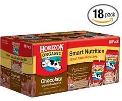 horizon organic chocolate or vanilla