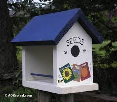 wooden bird feeder plans how to make