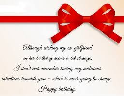 happy birthday ex girlfriend quotes wishesgreeting