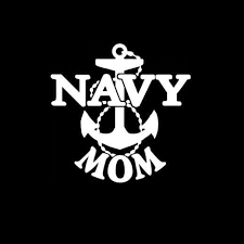 Proud Navy Mom A2 Military Window Decal Stickers Custom Sticker Shop