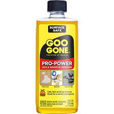 Goo Gone 8 Oz Pro Power Adhesive Remover 2037 The Home Depot