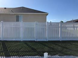 Semi Privacy Vinyl Independence Fence Company