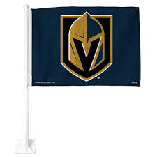 Vegas Golden Knights Car Flag 15in X 11in Party City
