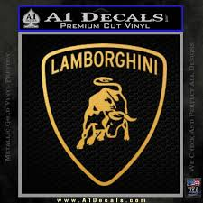 Lamborghini D1 Decal Sticker A1 Decals