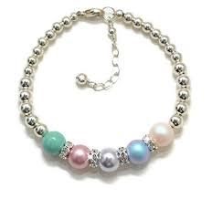 sterling silver birthstone bracelets