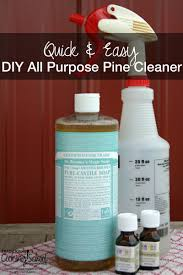 diy all purpose pine cleaner quick easy