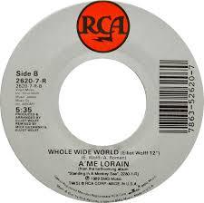 45cat - A'me Lorain - Follow My Heartbeat / Whole Wide World ...