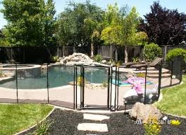 Pool Fence By Baby Barrier Removable Pool Safety Fence