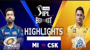 MI Vs csk match highlights 2020 ...