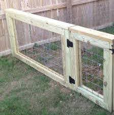 Super Diy Dog Gate Chicken Wire Ideas Diy Dog Fence Backyard Fences Cattle Panels